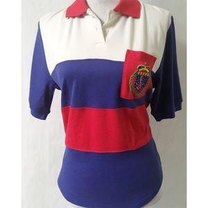 Red/White/Blue Vintage Top Size Medium